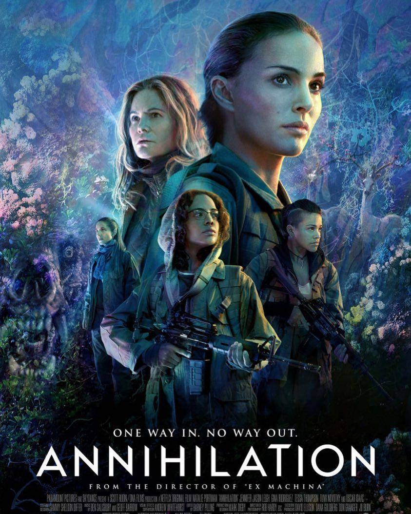 Annihilation - Mang đậm hình bóng của những bom tấn đi trước nhưng không kém phần thông minh và rùng rợn