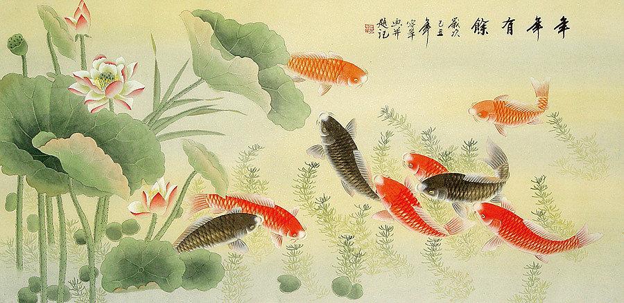 5 loại tranh phong thủy xua tan tà khí, rước về tài lộc