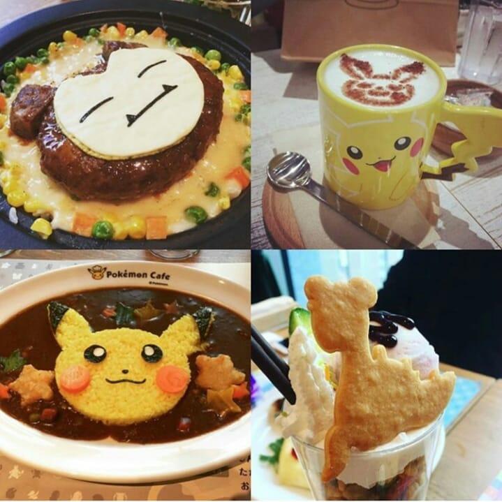 Khám phá cà phê Pokémon - Thiên đường của fan cuồng Pokémon