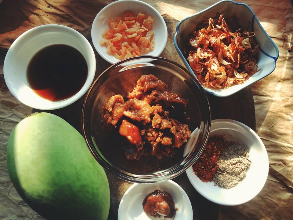 Rớt nước miếng với bí kíp làm sốt chấm xoài kiểu Thái