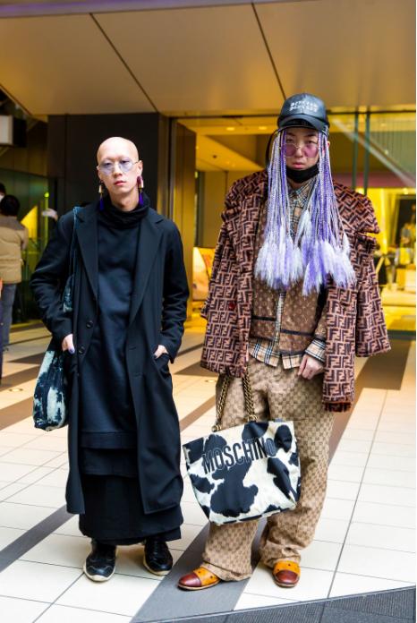 Những bộ cánh quái dị nhất street style Tokyo FW Fall 2018