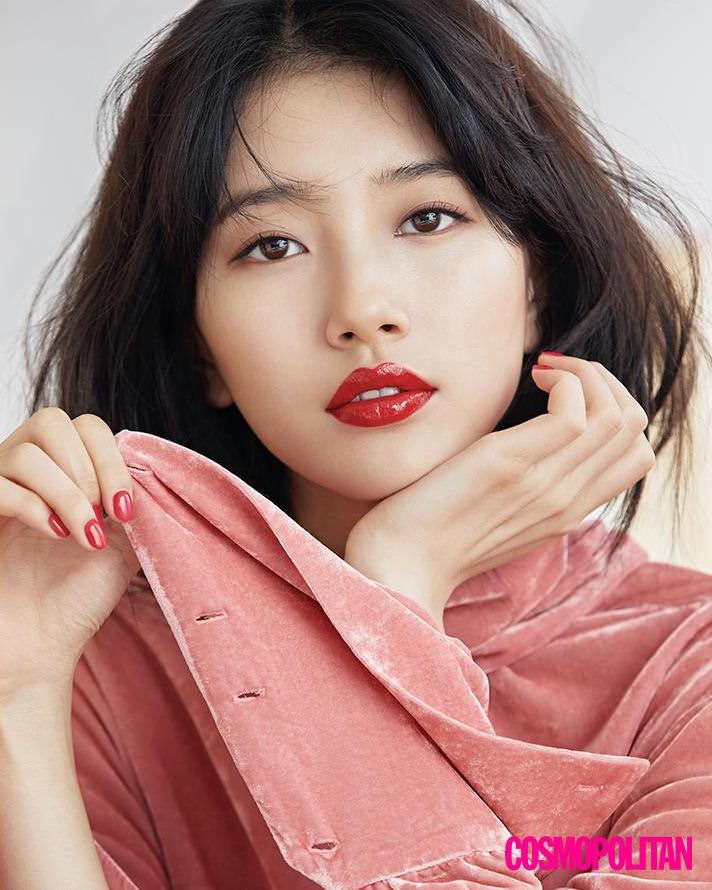 Suzy khoe nhan sắc rực rỡ trên tạp chí Tháng 4