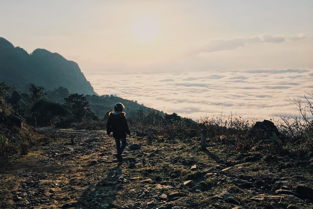 Rủ nhau chinh phục núi chín tầng mây - Chiêu Lầu Thi dịp nghỉ lễ 30/4