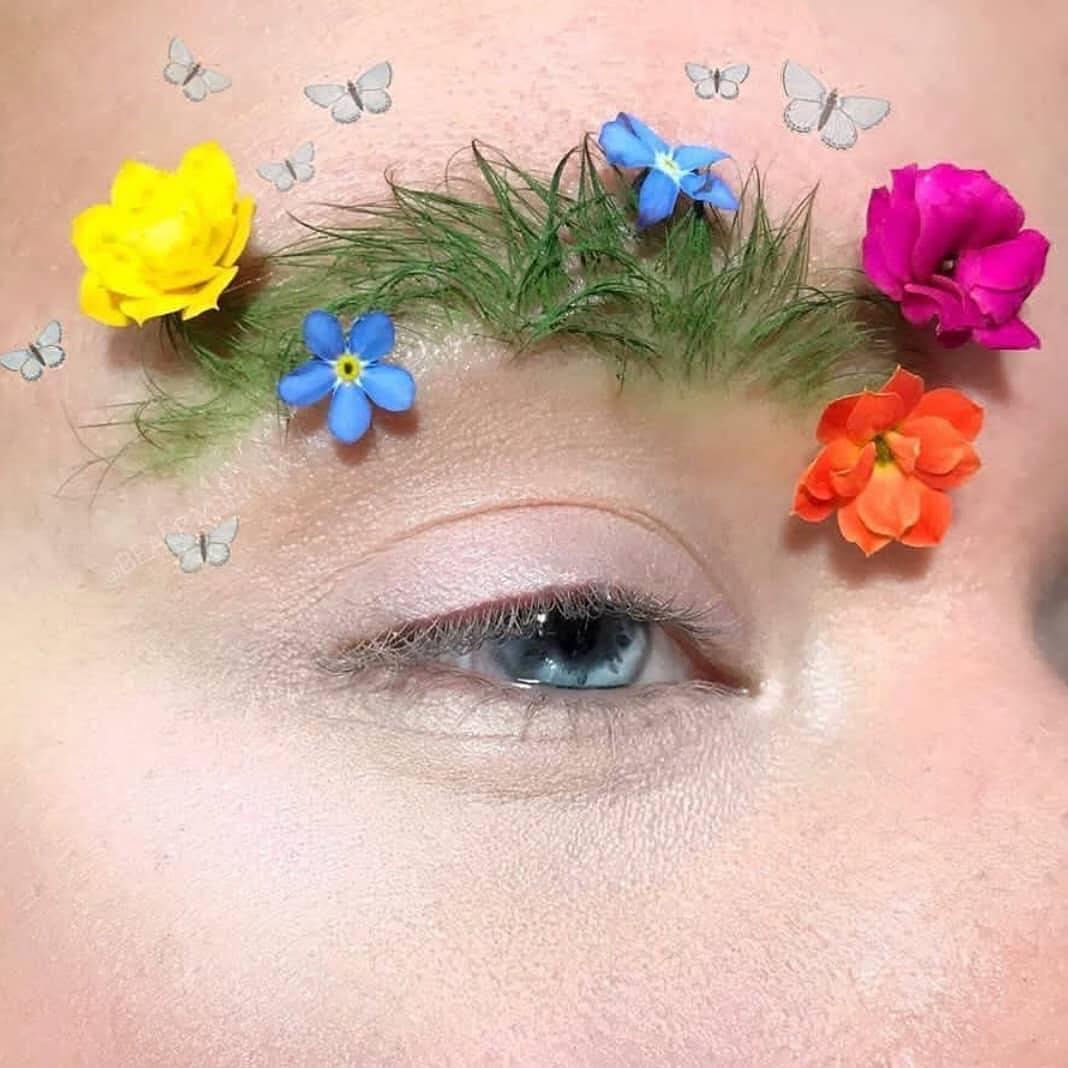 Lông mày vườn hoa chuẩn không khí mùa hè - Bạn dám thử không?