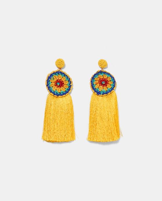 10 mẫu hoa tai Zara rực rỡ cho mùa đi biển năm nay