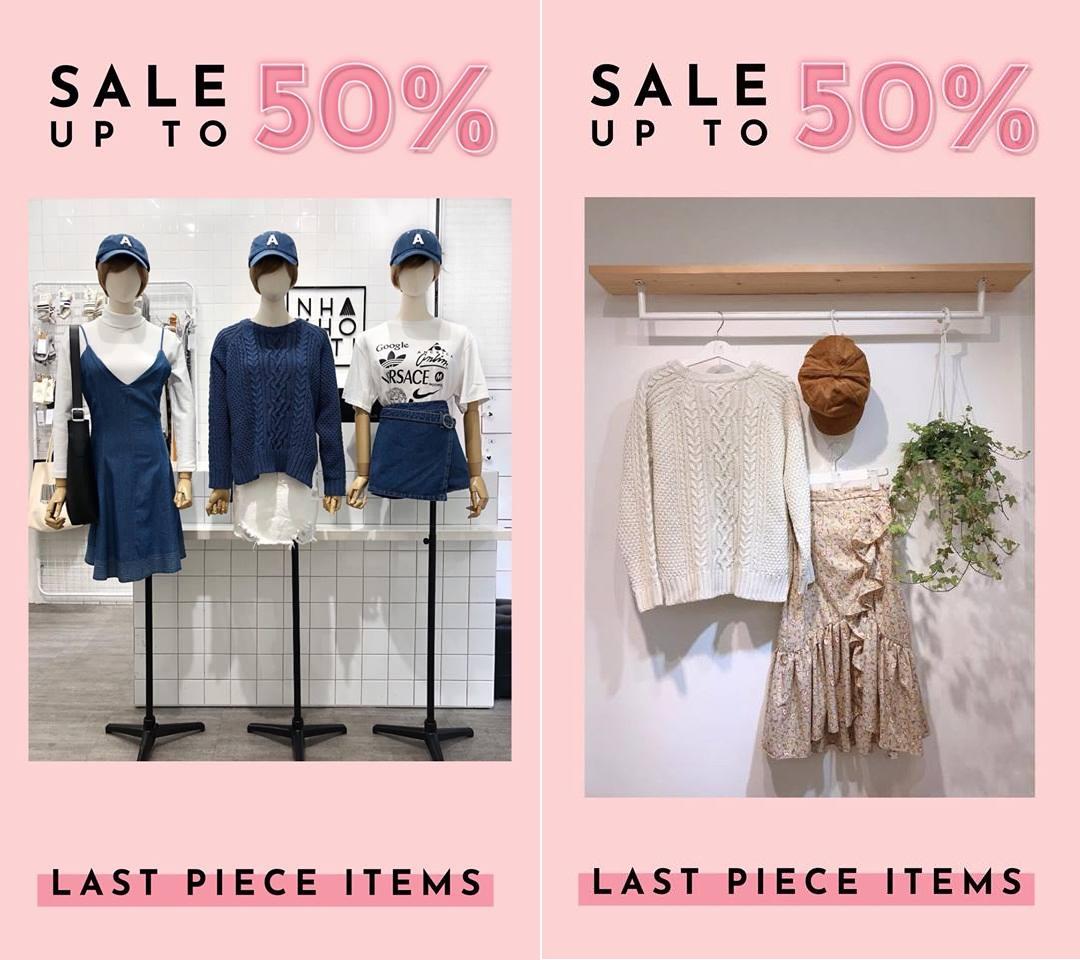 Khuyến mại 9/4/2018: Các địa chỉ mua sắm thời trang với ưu đãi lớn
