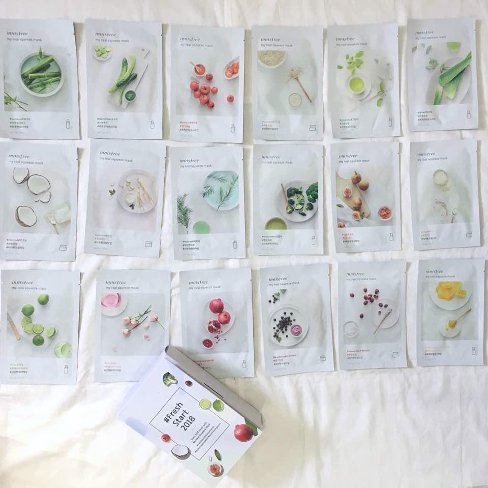 Những loại mặt nạ giấy giá mềm, không bí da phù hợp với thời tiết mùa hè