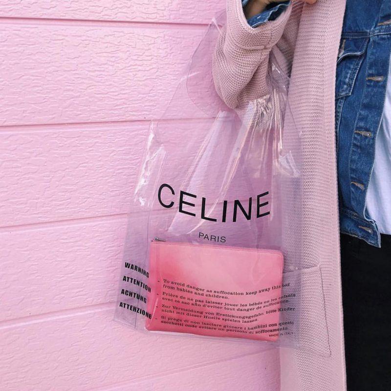 Bị chê như túi đi chợ nhưng thiết kế này của Celine lại đang gây bão
