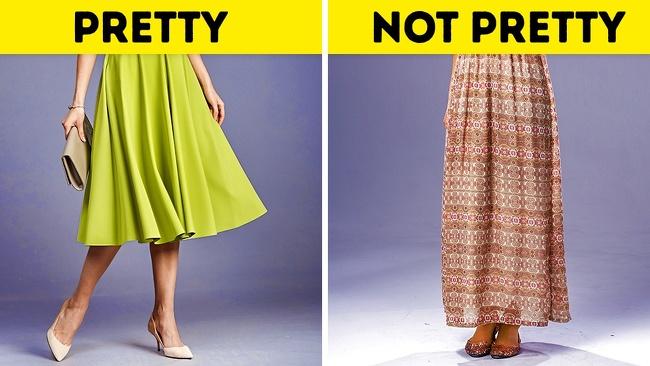 7 cách mặc đồ dễ khiến nàng trông già hơn