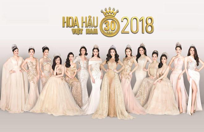 14 Hoa hậu Việt Nam hội tụ kỷ niệm 30 năm lịch sử cuộc thi