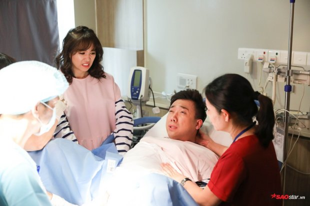 Sau khi vượt cạn thành công, Trấn Thành thừa nhận lo cho Hari Won là phí