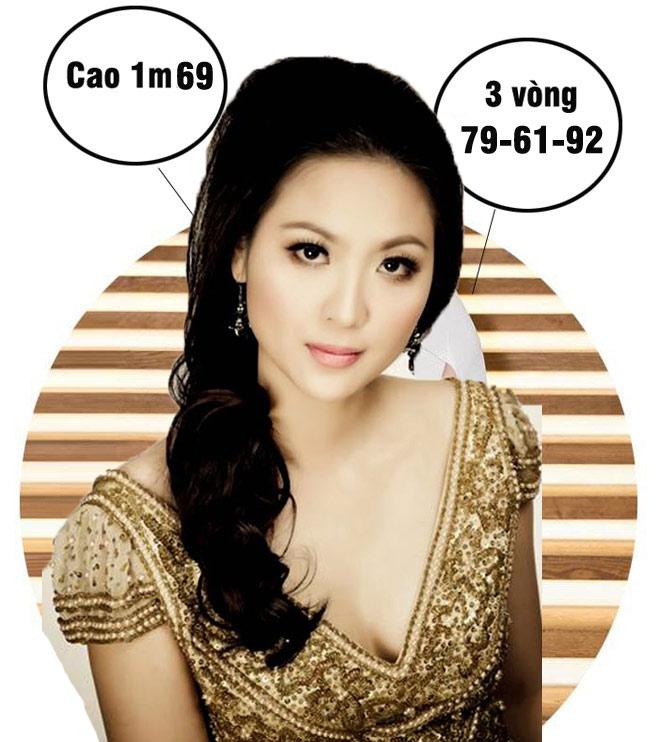Mai Phương Thúy cao nhất, số đo nóng bỏng nhất lịch sử Hoa hậu Việt Nam?