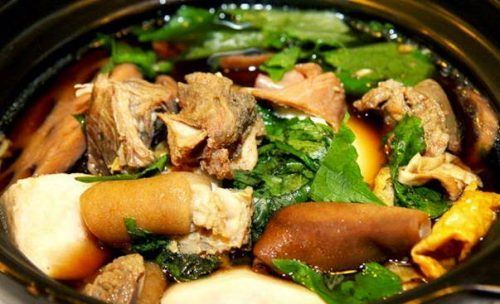 Cách nấu món lẩu dê - đặc sản Ninh Bình