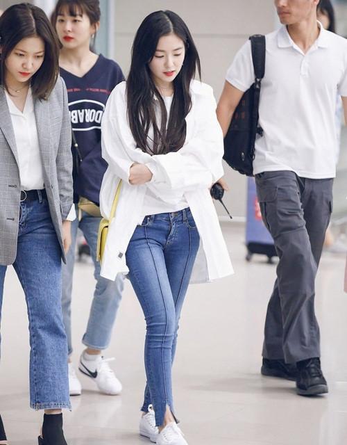 Kiểu trang phục sân bay ưa chuộng của dàn sao nữ Hàn