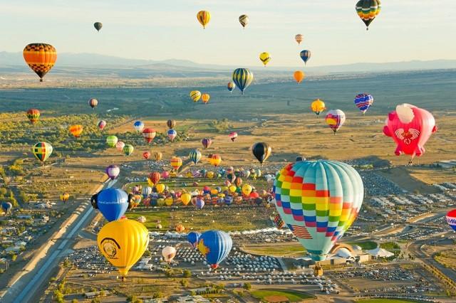 Lễ hội khinh khí cầu mùa hè QuickChek lớn nhất nước Mỹ