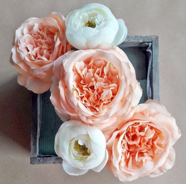 2 cách cắm hoa lụa trang trí nhà xinh yêu