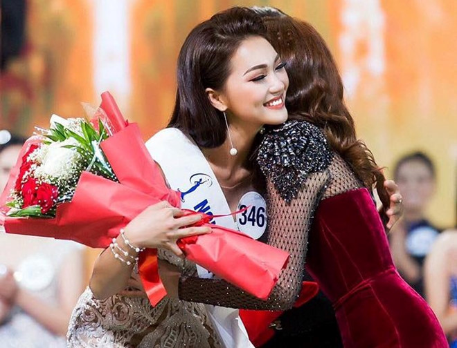 Gương mặt đẹp nhất Ngọc Nữ dừng thi Hoa hậu Việt Nam 2018