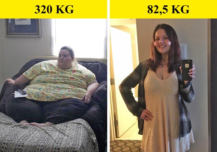 6 ca lột xác ngoạn mục nhờ kiên trì giảm cân