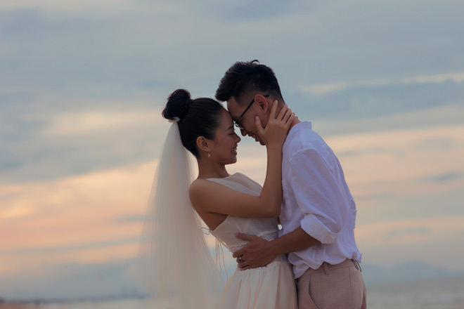 Từ chối đại gia, Hoàng Quyên kết hôn với kiến trúc sư