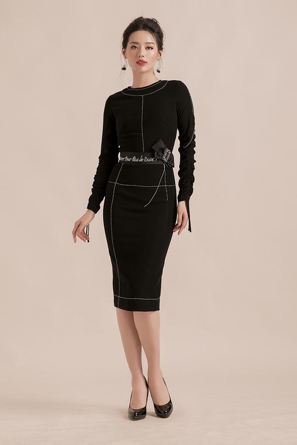 Khánh Linh The Face gợi ý 8 mẫu váy ngắn phù hợp với nàng công sở
