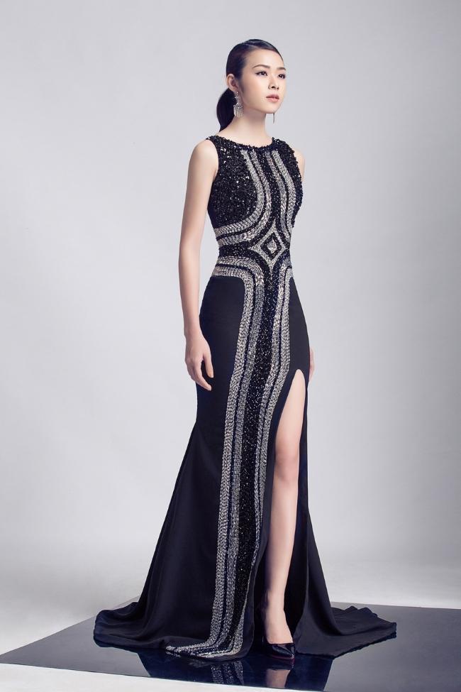 Cao Thái Hà, Diệp Bảo Ngọc làm mẫu ảnh trong bộ sưu tập thời trang mới