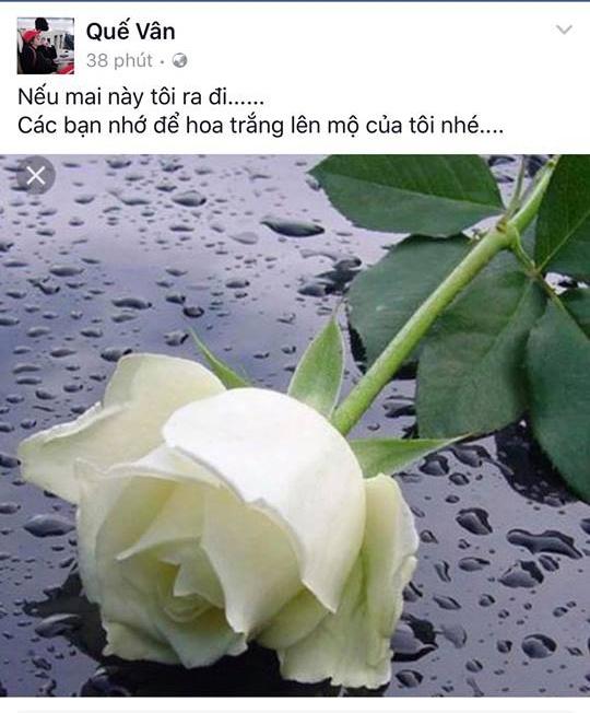Vợ chồng Việt Anh bình thản giữa tâm bão, Quế Vân lại viết status gở mồm