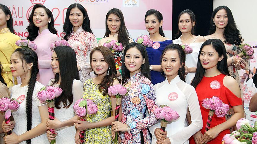Cận cảnh nhan sắc thí sinh dự Chung khảo phía Bắc HHVN 2018