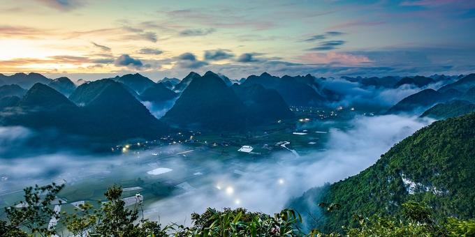 Đắm mình trong sắc vàng ruộm của lúa chín ở thung lũng Bắc Sơn