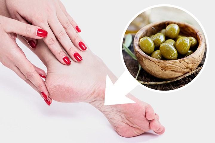 Bàn chân mềm mại nhờ các thành phần đơn giản, dễ tìm