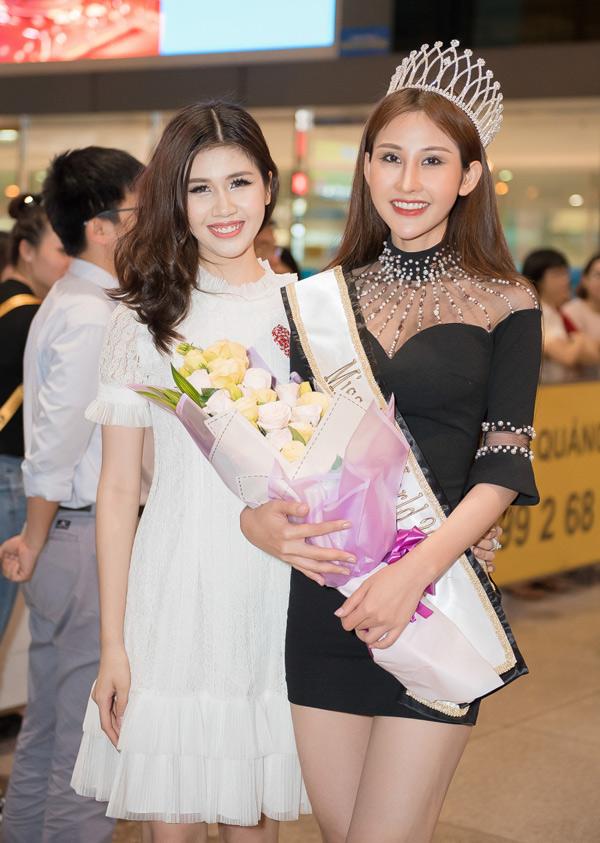 Chi Nguyễn được chào đón khi về nước sau đăng quang Miss Asia World