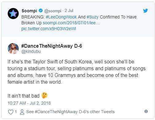 Yêu nhanh, chia tay vội toàn mỹ nam hạng A, Suzy bị mỉa mai là Taylor Swift phiên bản Hàn