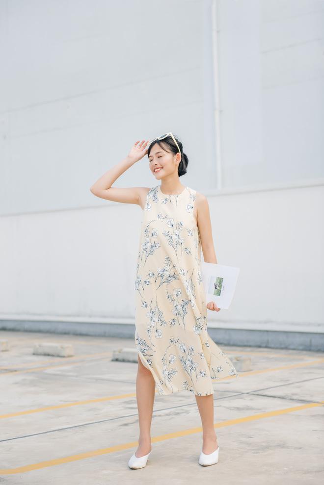 Xoa dịu cả tuần nắng nóng như đổ lửa bằng 18 mẫu váy liền sát nách đến sở làm mỗi ngày