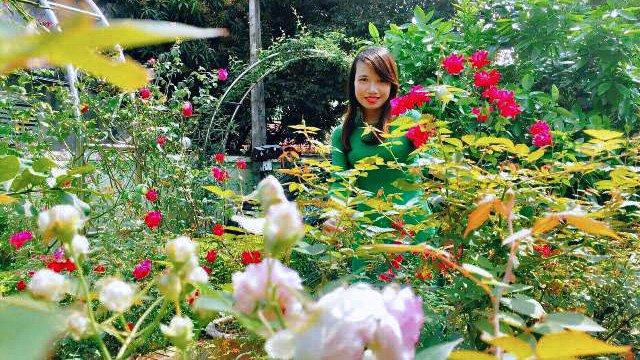 Vườn hoa 100 triệu đẹp như tranh của cô giáo dạy Toán