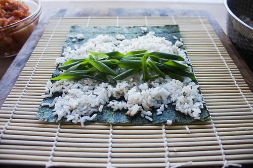 Chỉ cần thay đổi nguyên liệu món cơm cuộn sẽ thêm phần lạ miệng và thơm ngon