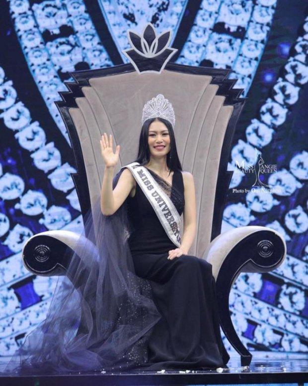 Cùng đăng quang trong một đêm, tân hoa hậu hoàn vũ Thái Lan bị chê xấu không thương tiếc, Chi Nguyễn được khen ngợi hết lời