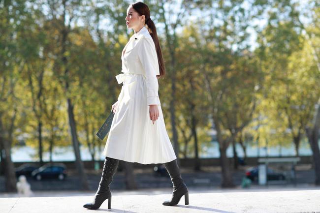 Kỳ Duyên sang chảnh, thần thái đẳng cấp tại Paris Fashion Week - 6