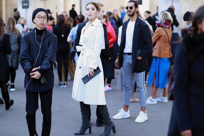Kỳ Duyên sang chảnh, thần thái đẳng cấp tại Paris Fashion Week - 8