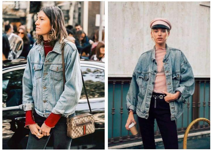 Sợ diện blazer già, áo khoác denim chính là lựa chọn thay thế cực trẻ trung dành cho các nàng công sở - 16