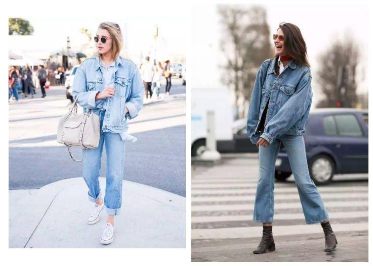 Sợ diện blazer già, áo khoác denim chính là lựa chọn thay thế cực trẻ trung dành cho các nàng công sở - 18