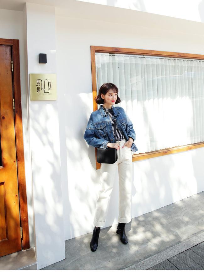 Sợ diện blazer già, áo khoác denim chính là lựa chọn thay thế cực trẻ trung dành cho các nàng công sở - 3