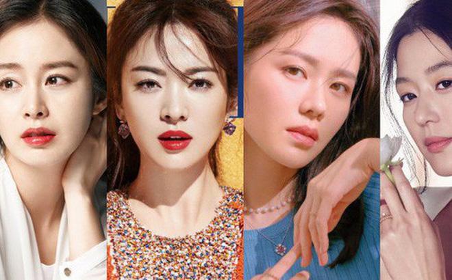 """Top mỹ nhân hàng đầu xứ Hàn: Minh tinh mét 7 cũng không đánh bại được 2 """"tường thành"""" mét rưỡi"""