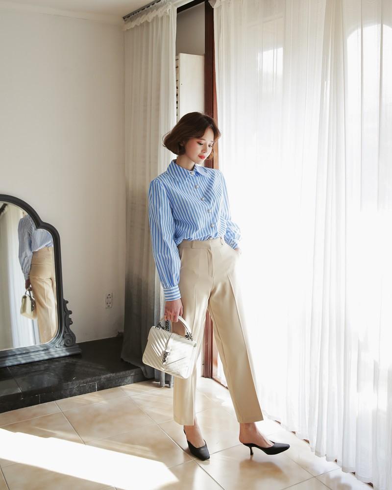 Nếu thấy style công sở của mình hơi 'dừ' và cứng nhắc thì đây là 5 tips diện đồ giúp các nàng ăn gian tuổi đáng kể - 18