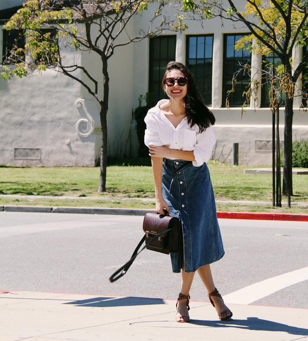 Nếu thấy style công sở của mình hơi 'dừ' và cứng nhắc thì đây là 5 tips diện đồ giúp các nàng ăn gian tuổi đáng kể - 8