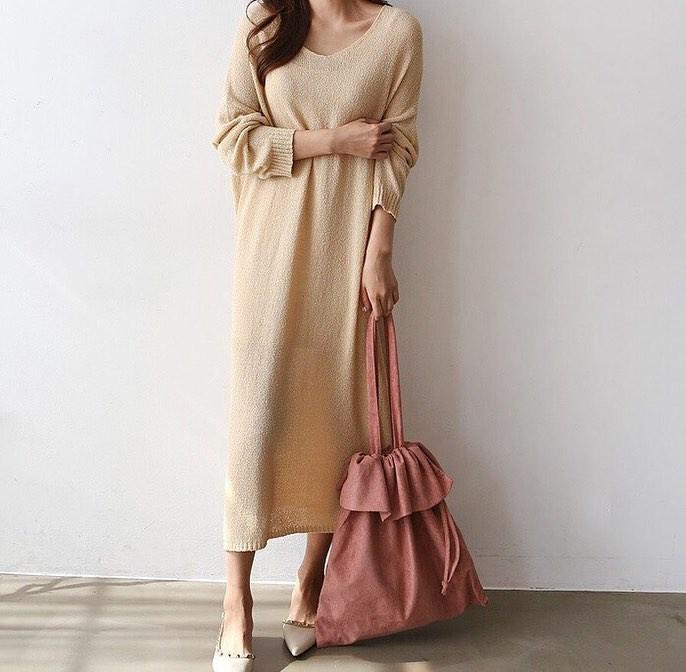 Váy dệt kim – chiếc váy mềm mại, đầy quyến rũ mà các nàng không thể làm ngơ trong những ngày trời se lạnh - 9