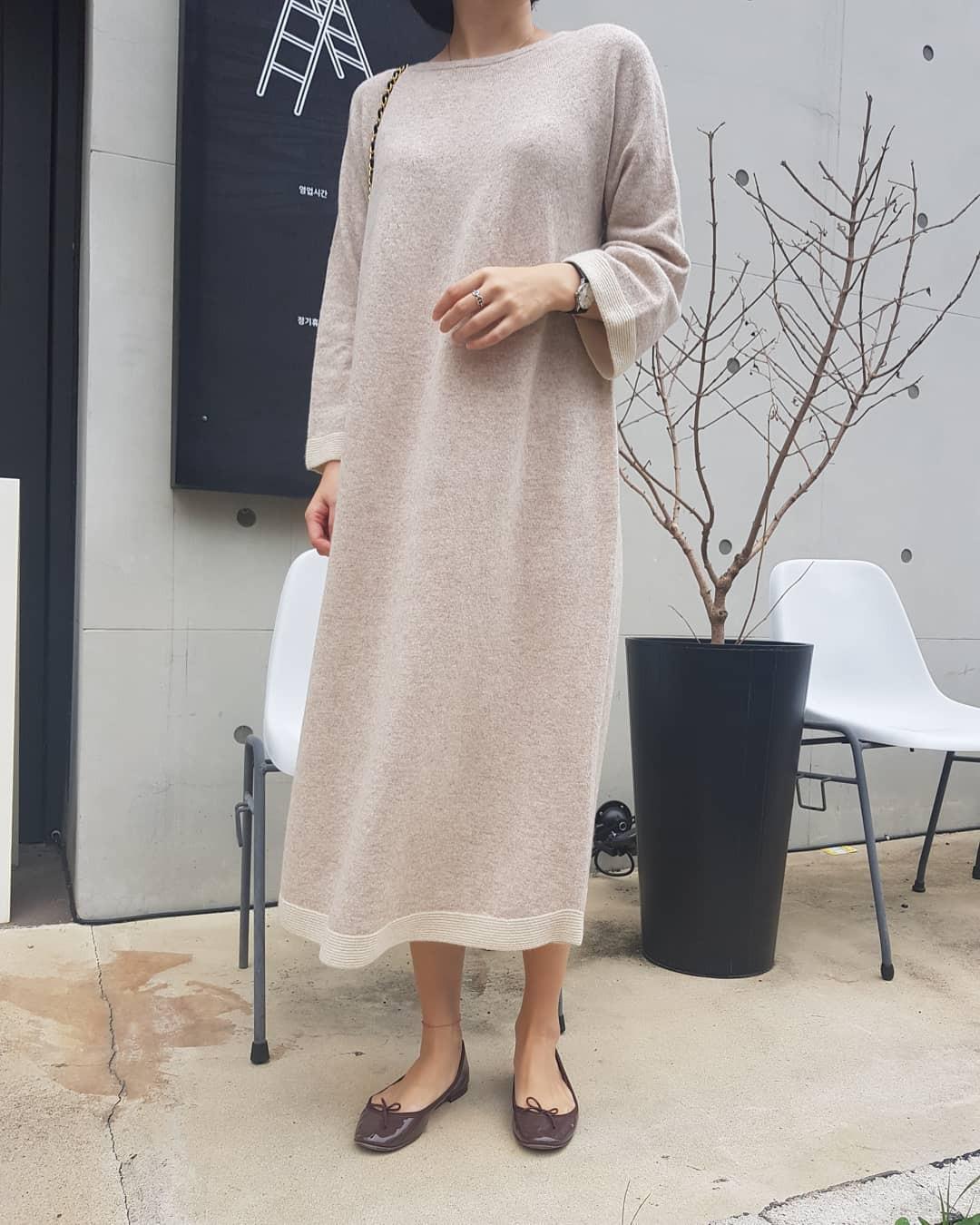 Váy dệt kim – chiếc váy mềm mại, đầy quyến rũ mà các nàng không thể làm ngơ trong những ngày trời se lạnh - 10