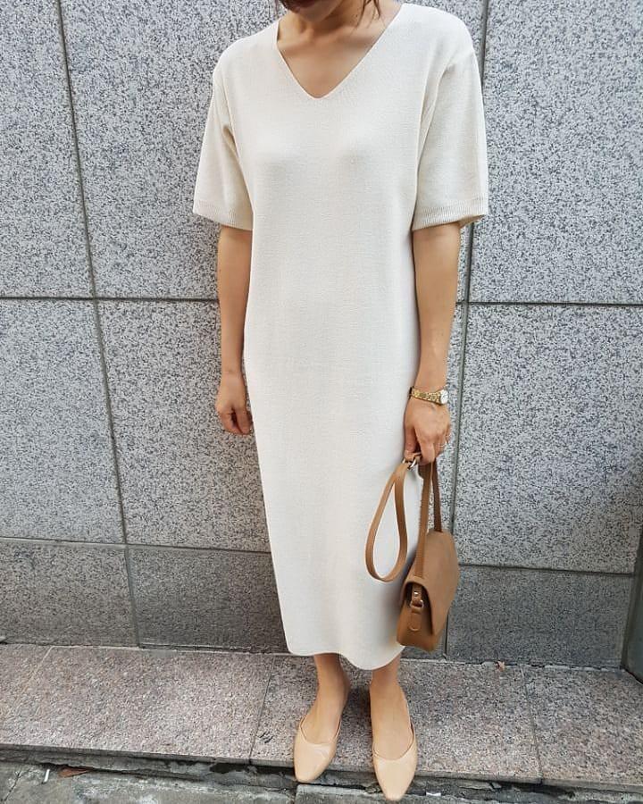 Váy dệt kim – chiếc váy mềm mại, đầy quyến rũ mà các nàng không thể làm ngơ trong những ngày trời se lạnh - 11