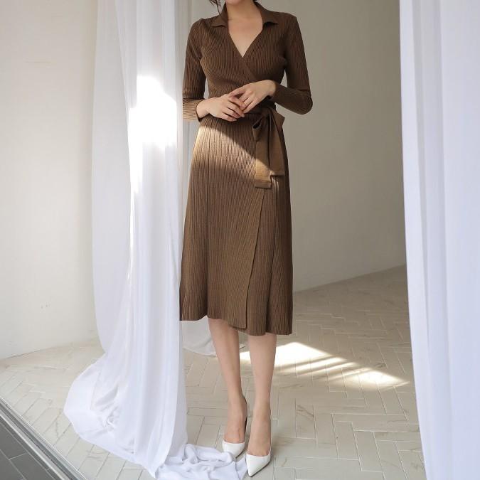 Váy dệt kim – chiếc váy mềm mại, đầy quyến rũ mà các nàng không thể làm ngơ trong những ngày trời se lạnh - 12
