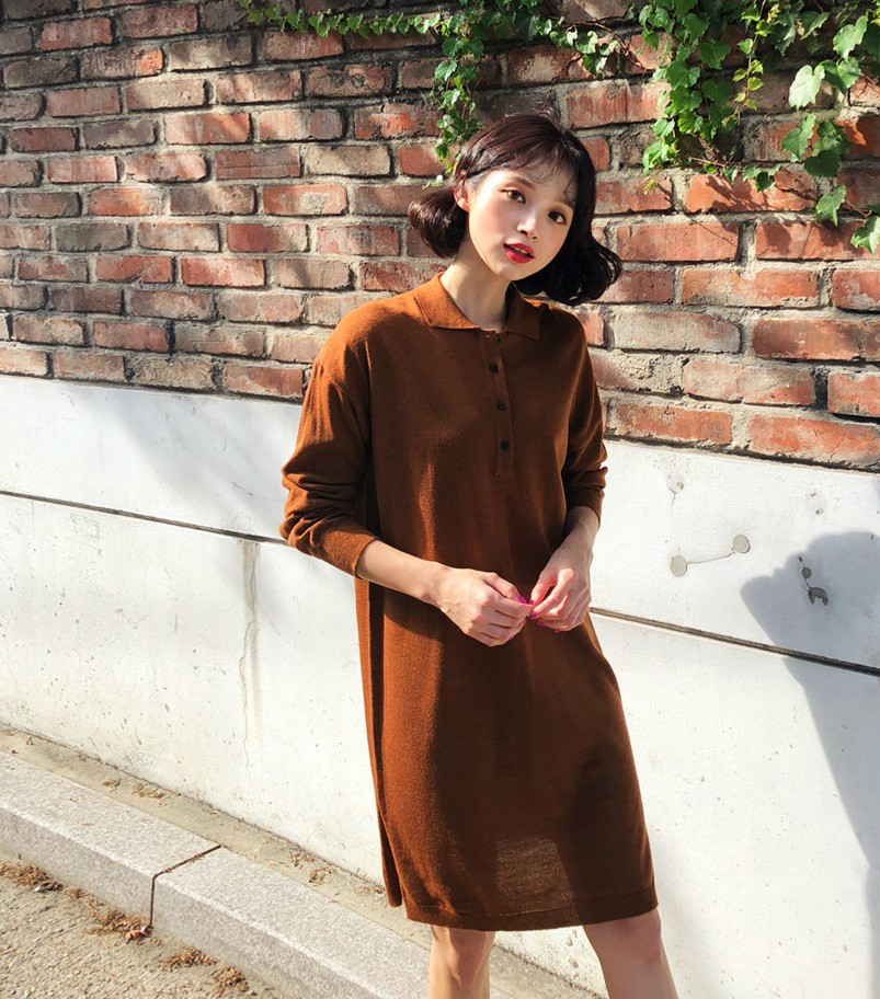 Váy dệt kim – chiếc váy mềm mại, đầy quyến rũ mà các nàng không thể làm ngơ trong những ngày trời se lạnh - 18