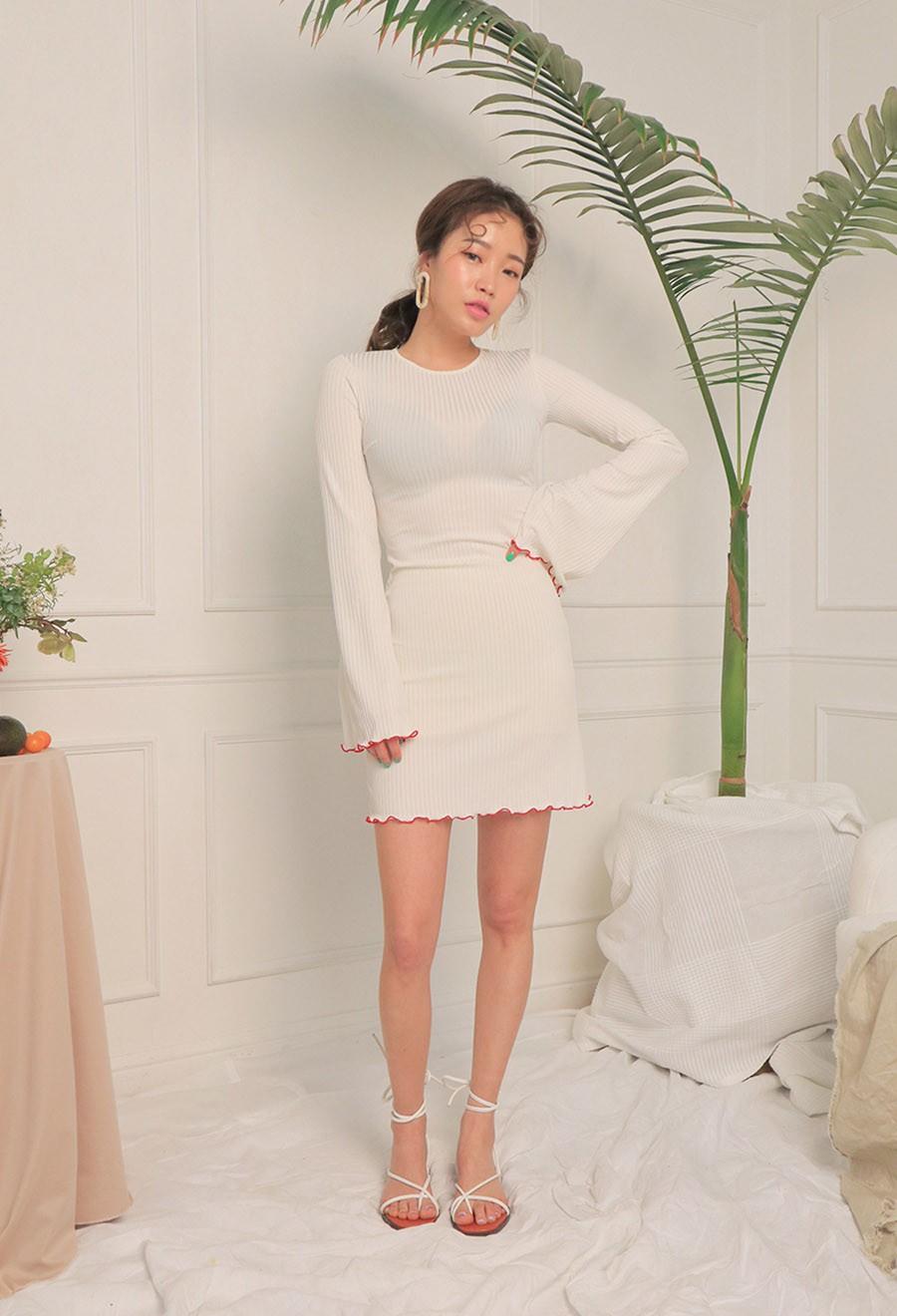 Váy dệt kim – chiếc váy mềm mại, đầy quyến rũ mà các nàng không thể làm ngơ trong những ngày trời se lạnh - 3