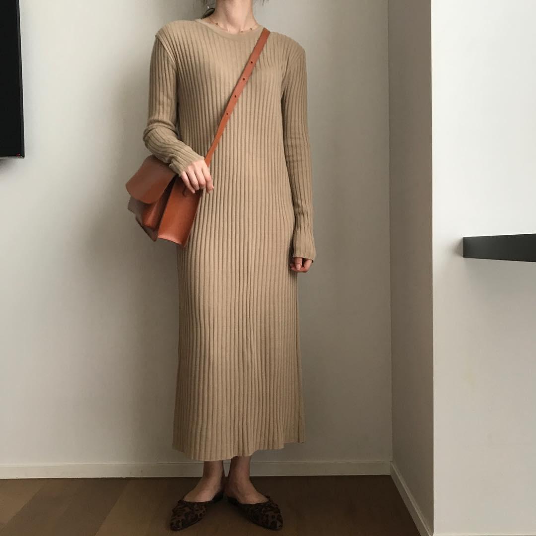 Váy dệt kim – chiếc váy mềm mại, đầy quyến rũ mà các nàng không thể làm ngơ trong những ngày trời se lạnh - 5